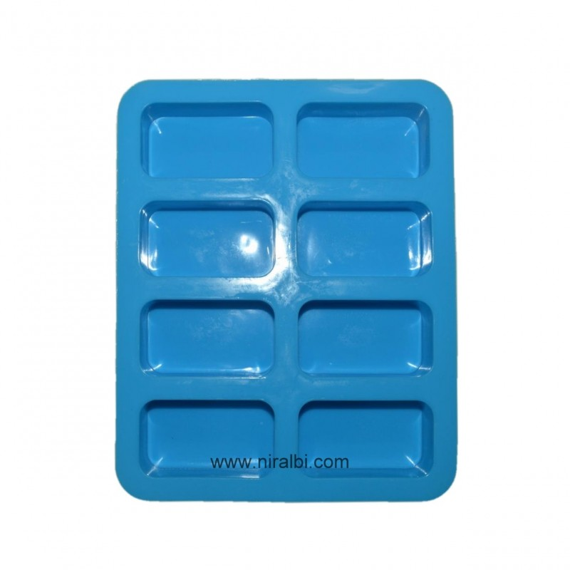 Niral Industries, Rectangle Soap Making Silicone Mould