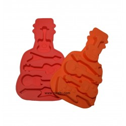 Niral Designer Guitar Shape Rubber Silicone Mould