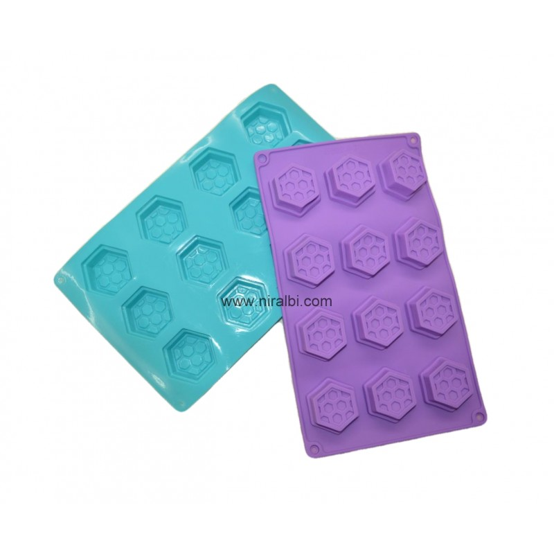 Small Bee Hive Rubber Silicone Mold, Niral Industries