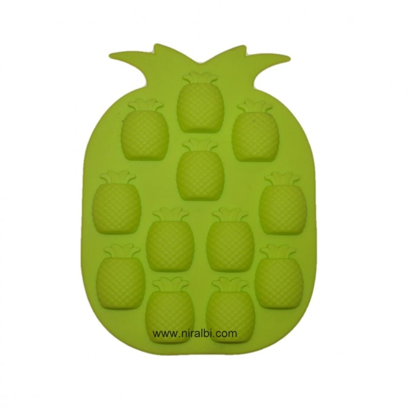 Pineapple Silicone Rubber Mold, Niral Industries