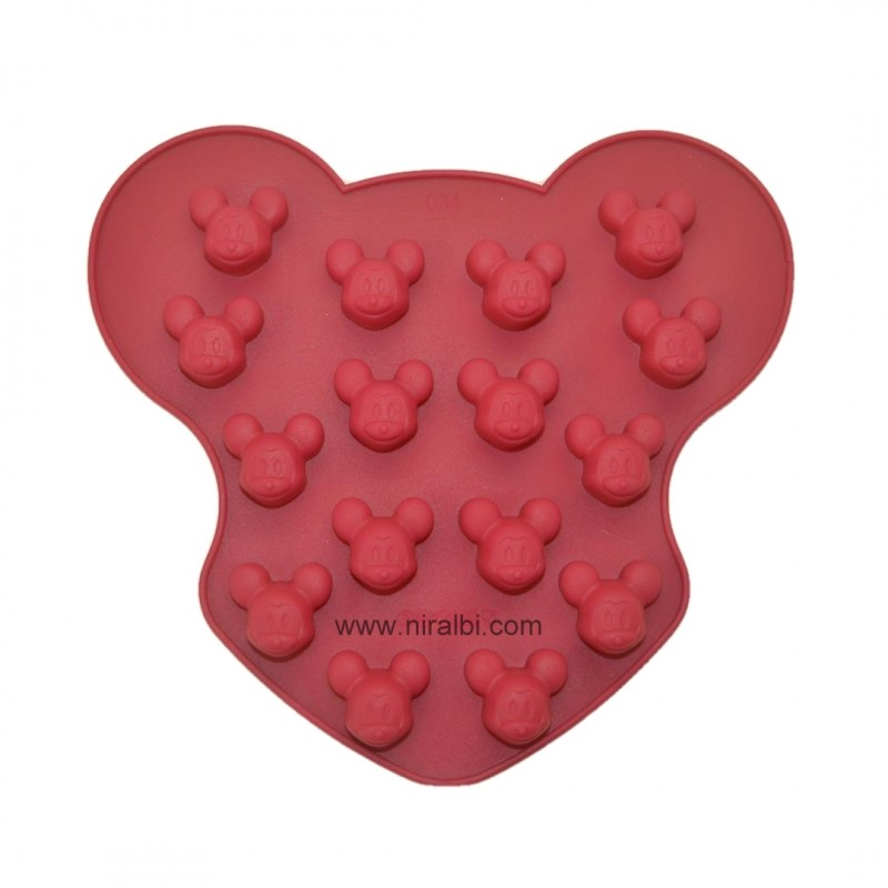 Niral Micky Face Silicone Rubber Mold