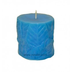 Leaf 3D Pillar Silicone Rubber Candle Mould