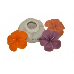 Periwinkle Flower Candle Mould, 40 gm Candle Wt