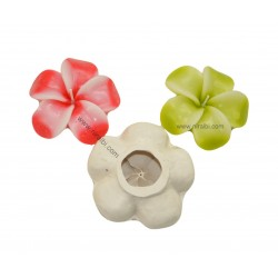 Periwinkle Flower Rubber Silicone Candle Mould, Niral Industries