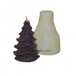 Small Chritsmas Tree Silicone Candle Mould