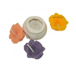 Niral Flower Silicone Rubber Candle Mould SL184