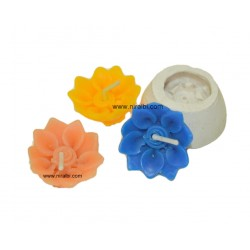Sunflower Candle Mould, Niral Industries, Rubber flower candle mould 6 gm