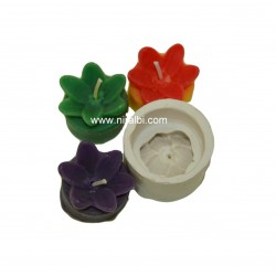 Flower With Base Candle Mould, Niral Industries,