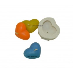 Niral Industries, Tiny Heart Silicone Candle Mould