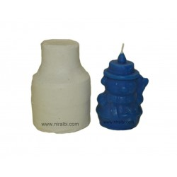 Silicon Rubber Snowman Candle Mould