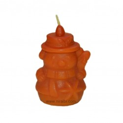 Snow,Christmas Rubber Candle Mould