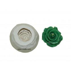 Mini Rose Flower Silicone Candle Mould, Niral Industries, Candle Wt - 10gm