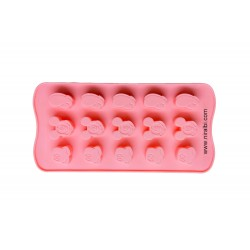 Small Cavity Mickey Design Soap Mould