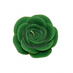 Rose Flower Floating Rubber Candle Mould