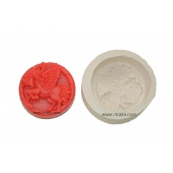 Flying Hourse Rubber Silicone Soap Mould
