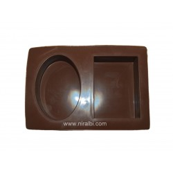 Sqaure & Oval Shape Rubber Tray Soap Mould