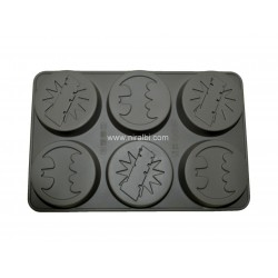 Round Shape Designer Silicone Soap Mould, 85 gm