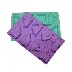 designer car silicone soap mould