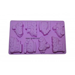 Niral Different Shape Designer Car Soap Making Mold, 70 gm