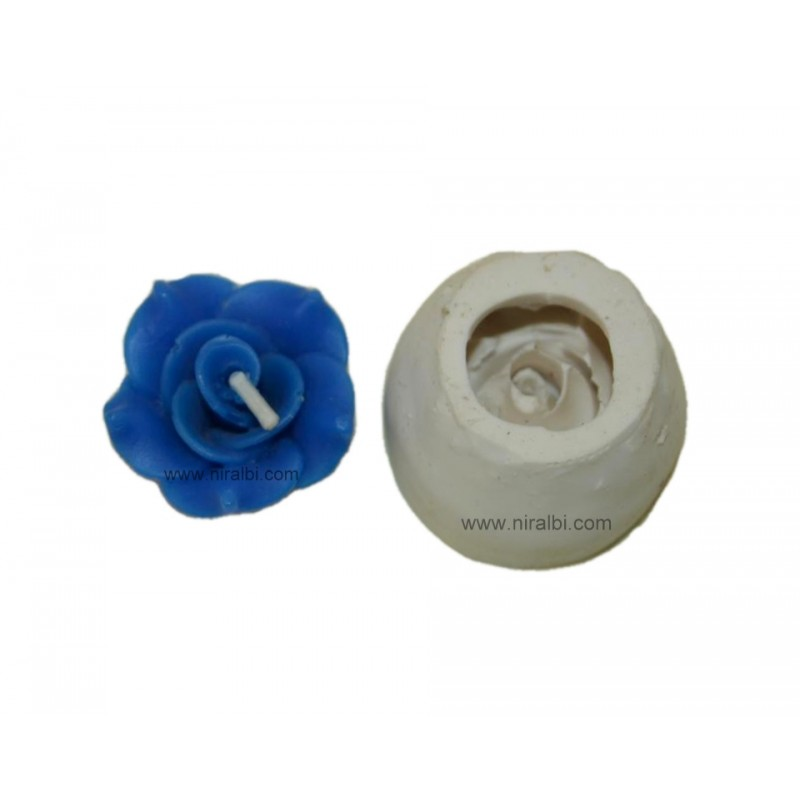 Floating Rose Flower Candle Mould