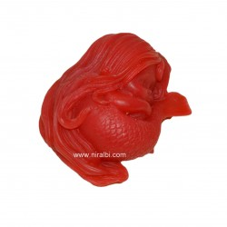Sleeping Mermaid Silicone Rubber Soap Mould, Niral Industries