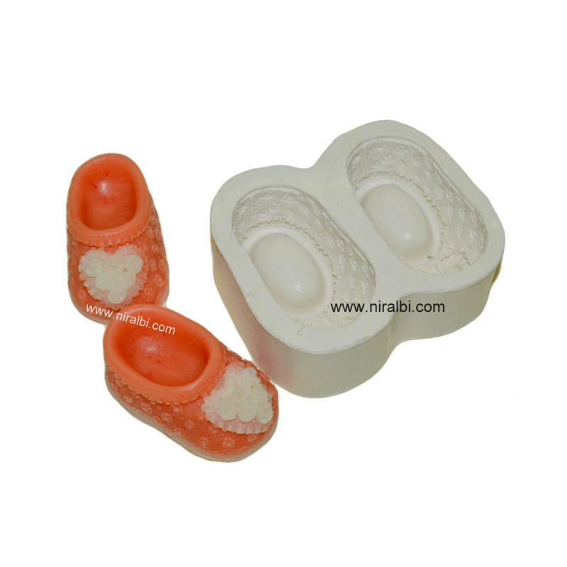 Shoe/ Boot Silicone Rubber Designer Soap Mould, Niral Industries