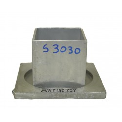 Square Shaped Aluminium Candle mold