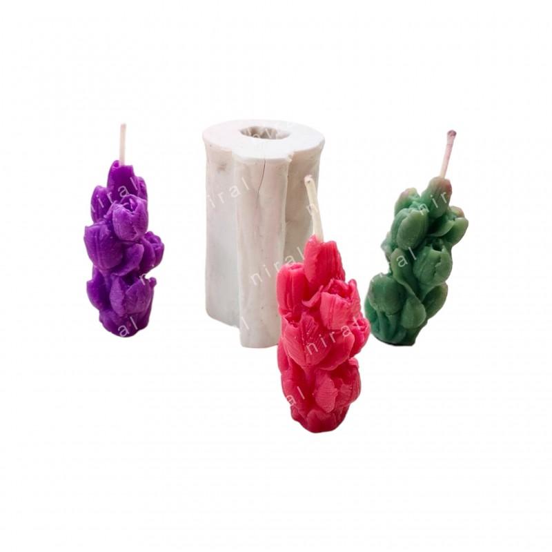 Square Shaped Aluminium Candle mold