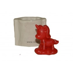 Standing Unicorn Silicone Candle Mould