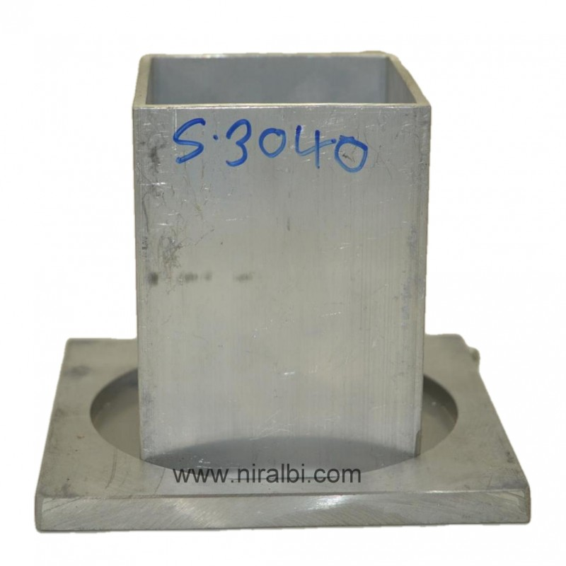 4''Inch Heighted Aluminium Candle Mould