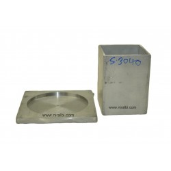 2 Pieces Candle making Aluminium mould