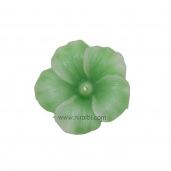 Hibiscus Flower Rubber Candle Mould