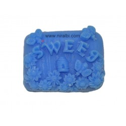 Sweet Designer Silicone Rubber Soap Mould