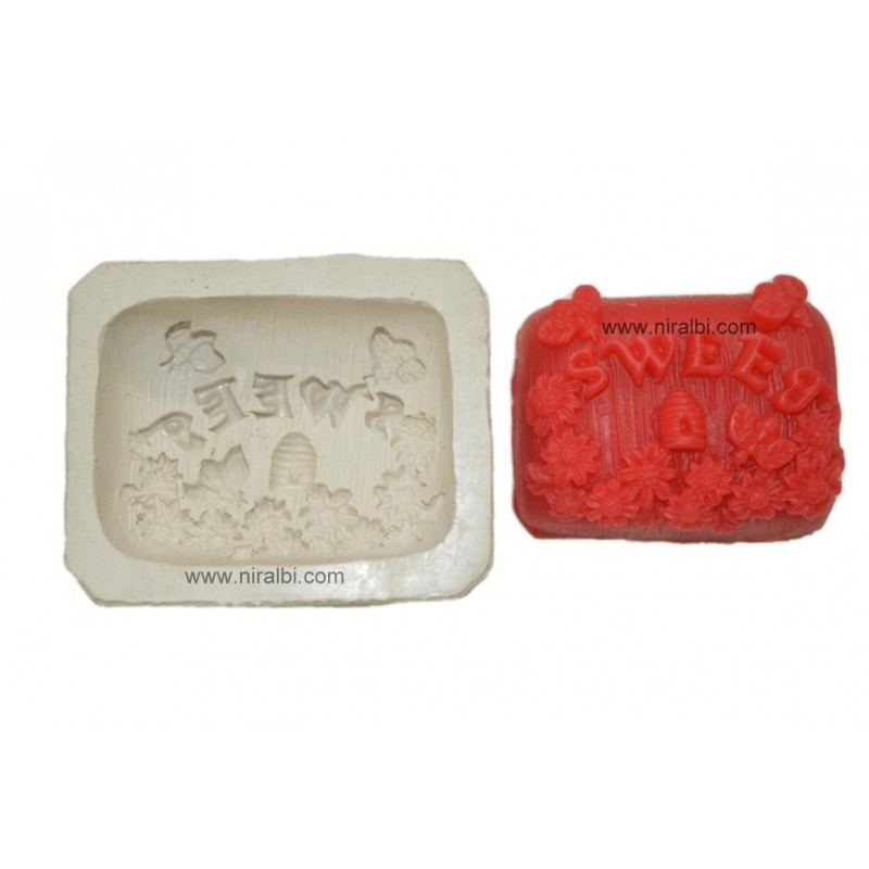 Sweet Designer Soap Mould