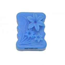 Cute Flowers Design Silicone Soap Mould