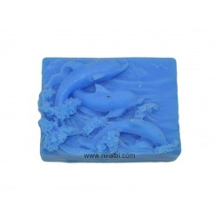 Silicone Dolphine Rectangle Soap Mould