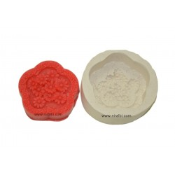 Silicone Flower Shape Soap Mould