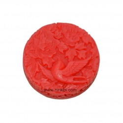 Cute Bird With Leaf And Flower Silicone Soap Mould