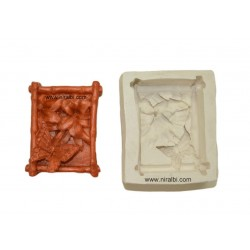 Butterfly In Square Silicone Soap Mould