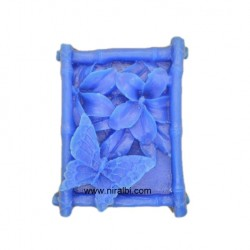 Butterfly In Square Shape Soap Mould