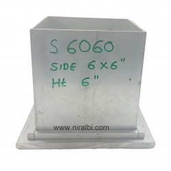 Square Aluminium Candle Mould