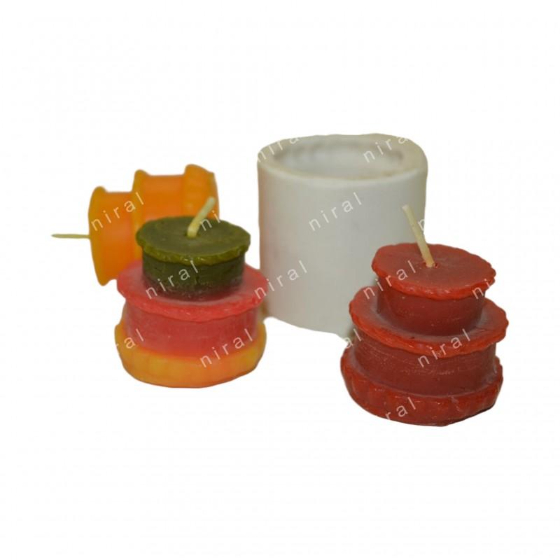 Square Aluminium Candle Mould