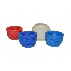 3 Wild Pillar Candle Mould