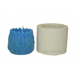Large Lotus Flower Candle Mould