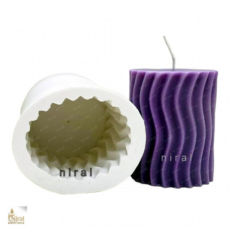 Cylinder Shaped Aluminium Candle mould