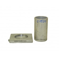 3''Inch heighted Cylinder Candle mould