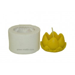 Small Lotus Hurricane Candle Mould