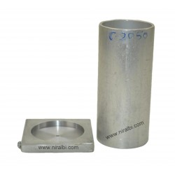 5'' Inch height Aluminium Candle mould
