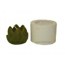 Designer Lotus Hurricane Candle Mould