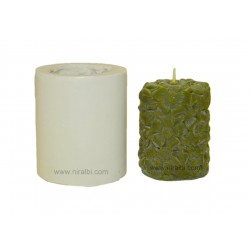 Cosmos Flower Design Pillar Candle Mould